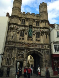 Canterbury Cathedral,gate